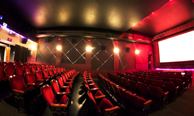 Interior of our theater